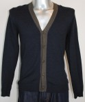 Ted Baker Cotton Navy Cardigan