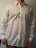Ted Baker White Striped Shirt