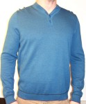 Ted Baker Button Neck Collar Jumper